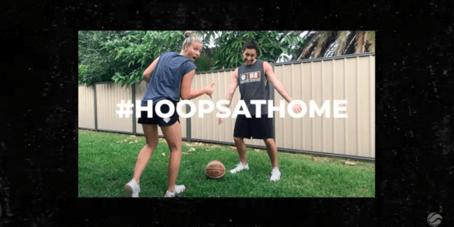 Hoops at Home - Basketball Queensland