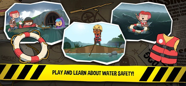 Water safety app, Royal Life Saving Society Queensland