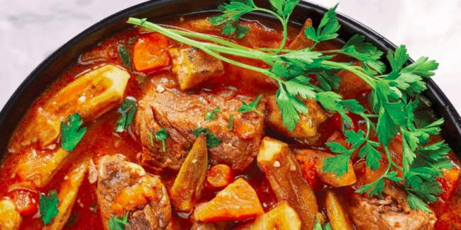 Bamia okra stew, ECCQ